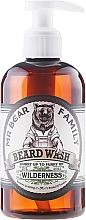 Perfumería y cosmética Champú para barba a base de tensioactivos vegetales, aroma a colinas verdes y madera - Mr. Bear Family Beard Wash Wilderness