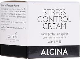 Perfumería y cosmética Crema facial antiedad triple protección con extracto de romero - Alcina Stress Control Creme