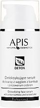 Perfumería y cosmética Suero facial desintoxicante con carbón de bambú y plata ionizada - APIS Professional Detox Detoxifying Face Serum With Carbon Bamboo And Ionized Silver