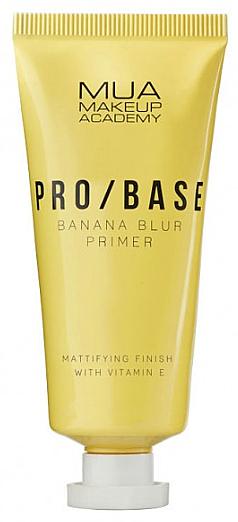 Prebase de maquillaje con efecto mate, aroma a plátano - Mua Pro/ Base Banana Blur Primer