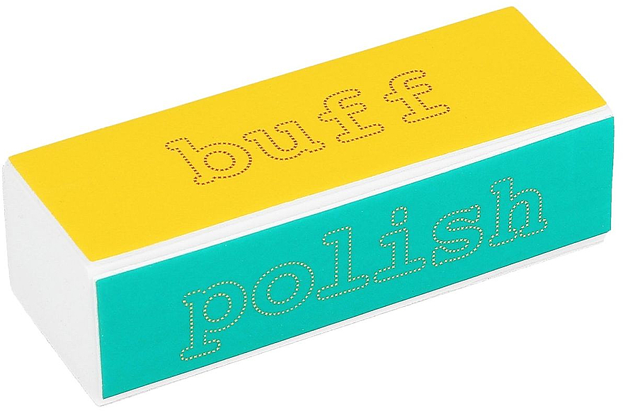 Bloque pulidor de uñas de cuatro caras - Tools For Beauty 4-way Nail Buffer Block Normal