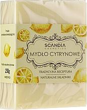 Perfumería y cosmética Jabón natural con extracto de limón - Scandia Cosmetics
