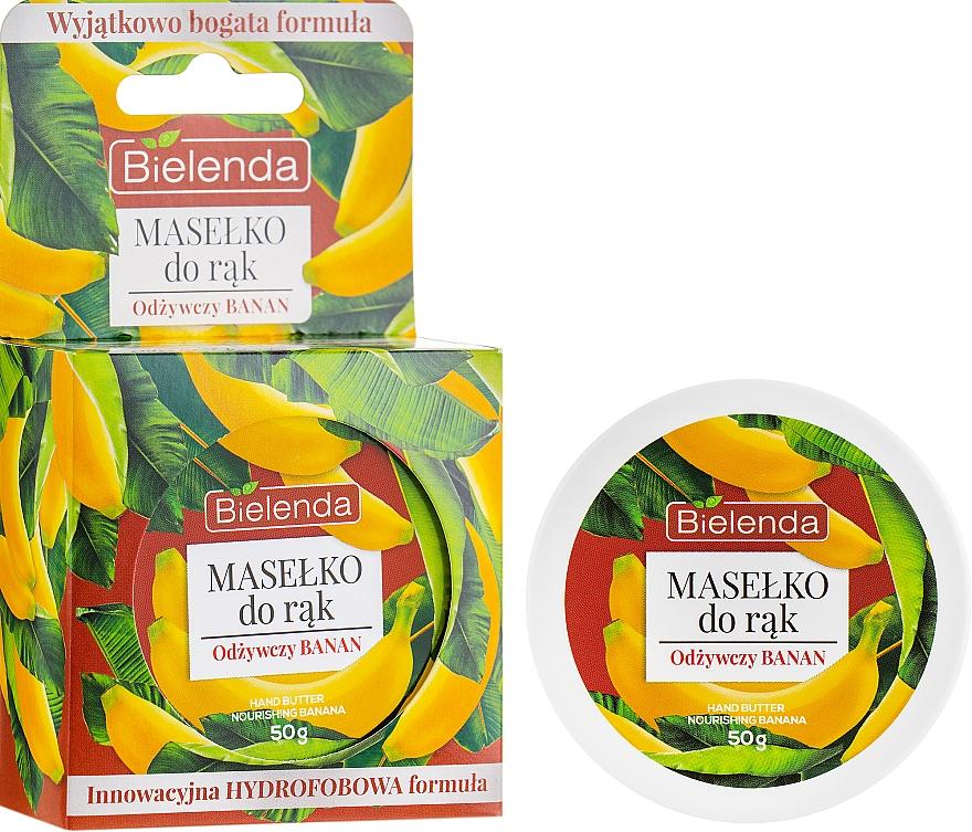 Manteca de manos con extracto de plátano - Bielenda Hand Butter Nourishing Banana