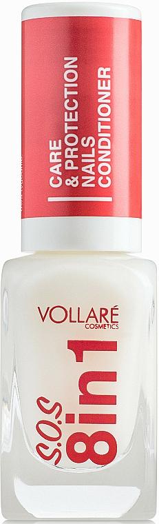 Tratamiento fortalecedor de uñas - Vollare Cosmetics SOS 8in1