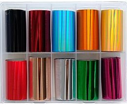 Perfumería y cosmética Láminas de transferencia para decoración de uñas - Deni Carte MIX 2