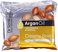 Perfumería y cosmética Jabón facial cremoso con aceite de argán - Dr.Sante Cream Soap