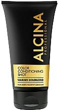 Perfumería y cosmética Acondicionador para un rubio dorado brillante - Alcina Color Conditioning Shot