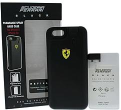 Perfumería y cosmética Ferrari Scuderia Ferrari Black - Set (2xedt/25ml + cáscara de móvil)