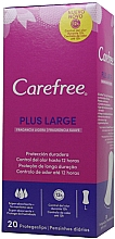 Perfumería y cosmética Salvaslips de algodón, protección duradera, 20 uds - Carefree Plus Large