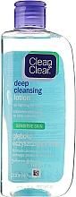 Perfumería y cosmética Loción limpiador facial con ácido salicílico y mentol - Clean & Clear Deep Cleansing Lotion