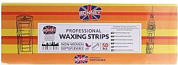 Perfumería y cosmética Bandas profesionales para depilación, 7x20cm, 50uds. - Ronney Waxing Strips