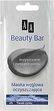 Perfumería y cosmética Mascarilla facial reductora de poros con carbón activado - AA Beauty Bar Cleansing Carbon Mask