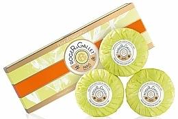 Perfumería y cosmética Set jabones perfumados con flor de osmanthus - Roger & Gallet Fleur D'Osmanthus Perfumed Soaps (jabón/3x100g )