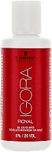 Perfumería y cosmética Oxidante a base de aceite 6% - Schwarzkopf Professional Igora Royal Oxigenta