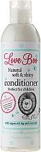 Perfumería y cosmética Acondicionador infantil con aceite de argán y coco - Love Boo Natural Soft And Shiny