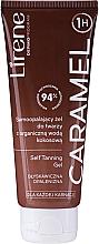 Perfumería y cosmética Gel autobronceador facial con agua orgánica de coco, para todo tipo de piel - Lirene Self Tanning Gel Caramel