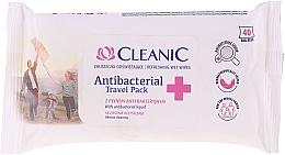 Perfumería y cosmética Tallitas húmedas antibacterianas - Cleanic Antibacterial Travel Pack Refreshing Wet Wipes