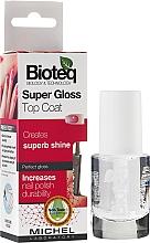 Perfumería y cosmética Top coat, efecto brillo - Bioteq Super Gloss Top Coat