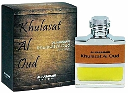 Perfumería y cosmética Al Haramain Khulasat Al Oud - Eau de parfum