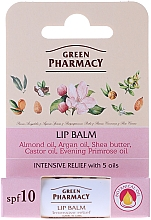 Perfumería y cosmética Bálsamo labial con 5 aceites - Green Pharmacy Lip Balm With 5 Oils, SPF 10