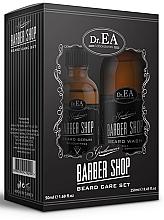 Perfumería y cosmética  Dr.EA Barber Shop Beard Care Set - Set de cuidado de barba (sérum/50ml + champú y acondicionador 2en1/250ml)