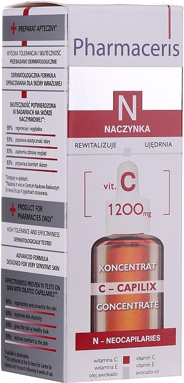 Sérum facial con vitamina C - Pharmaceris N Serum with Vit. C 1200mg Strengtening and Smoothing