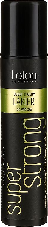 Laca con provitamina B5, fijación super fuerte - Loton Hair-Spray Super Strong