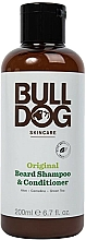 Perfumería y cosmética Champú acondicionador para barba con aloe y té verde - Bulldog Skincare Beard Shampoo and Conditioner