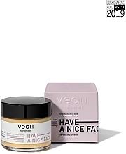 Perfumería y cosmética Crema facial hidratante con extracto de grosella negra, Omega 3 y 6 - Veoli Botanica Deep Moisturizer Have A Nice Face