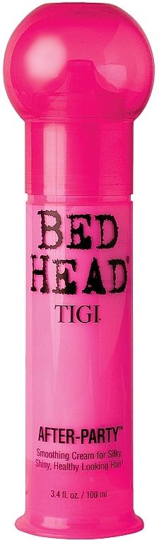 Crema suavizante para lucir cabello sano y brillante - Tigi Bed Head After Party Smoothing Cream — imagen N1