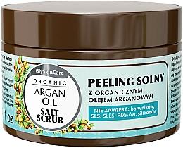 Perfumería y cosmética Exfoliante corporal a base de sal con aceite de argán - GlySkinCare Argan Oil Salt Scrub