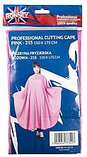 Perfumería y cosmética Capa de peluquería, rosa - Ronney Professional Cutting Cape