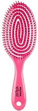 Perfumería y cosmética Cepillo de pelo desenredante, rosa fucsia - Beter Elipsi Detangling Brush Large Fucsia