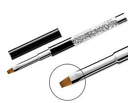 Perfumería y cosmética Pincel plano de manicura, №10 - Elisium