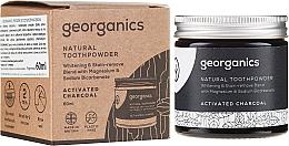 Perfumería y cosmética Pasta dental con carbón activado en polvo, magnesio y bicarbonato de sodio - Georganics Activated Charcoal Natural Toothpowder