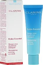 Perfumería y cosmética Mascarilla para contorno de ojos con extracto de quinoa - Clarins Hydra-Essentiel Moisturizing Reviving Eye Mask