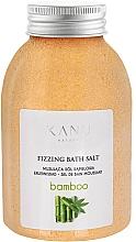Perfumería y cosmética Sal de baño con aroma a bambú - Kanu Nature Bamboo Bath Salt