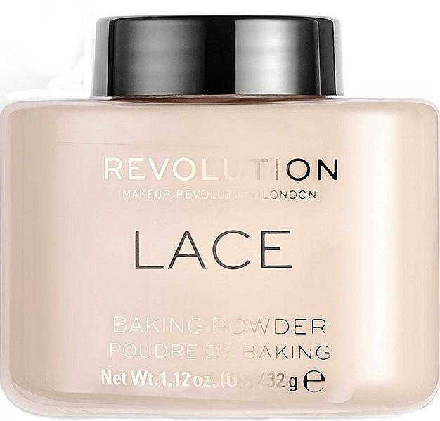 Polvo facial suelto cocido - Makeup Revolution Lace Luxury Baking Powder