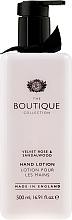 Perfumería y cosmética Loción de manos con aroma a rosa y sándalo - Grace Cole Velvet Rose & Sandalwood Hand Lotion