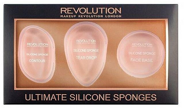 Set esponjas de silicona para maquillaje - Makeup Revolution Ultimate Silicone Sponge Set — imagen N1