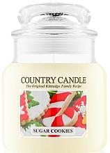 Perfumería y cosmética Vela perfumada con aroma a chocolate & caramelo - Country Candle Sugar Cookies
