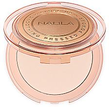 Perfumería y cosmética Polvo facial compacto - Nabla Close-Up Smoothing Pressed Powder