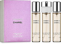 Chanel Chance - Eau de toilette (recarga/3uds./20ml) — imagen N1