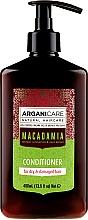 Perfumería y cosmética Acondicionador con aceite de argán y macadamia - Arganicare Macadamia Conditioner