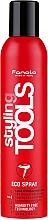Perfumería y cosmética Laca ecológica antihumedad con aminoácidos de seda y ceramidas, fijación extra fuerte - Fanola Styling Tools Eco Spray Extra Strong Lacquer