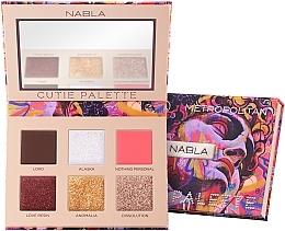 Perfumería y cosmética Paleta de sombras de ojos - Nabla Cutie Collection Palette Metropolitan