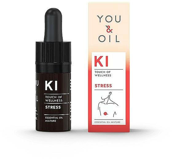 Mezcla natural de aceites esenciales para reducir el estrés - You & Oil KI-Stress Touch Of Wellness Essential Oil