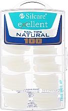 Perfumería y cosmética Tips de uñas, k/k - Silcare Tipsy Exellent Natural