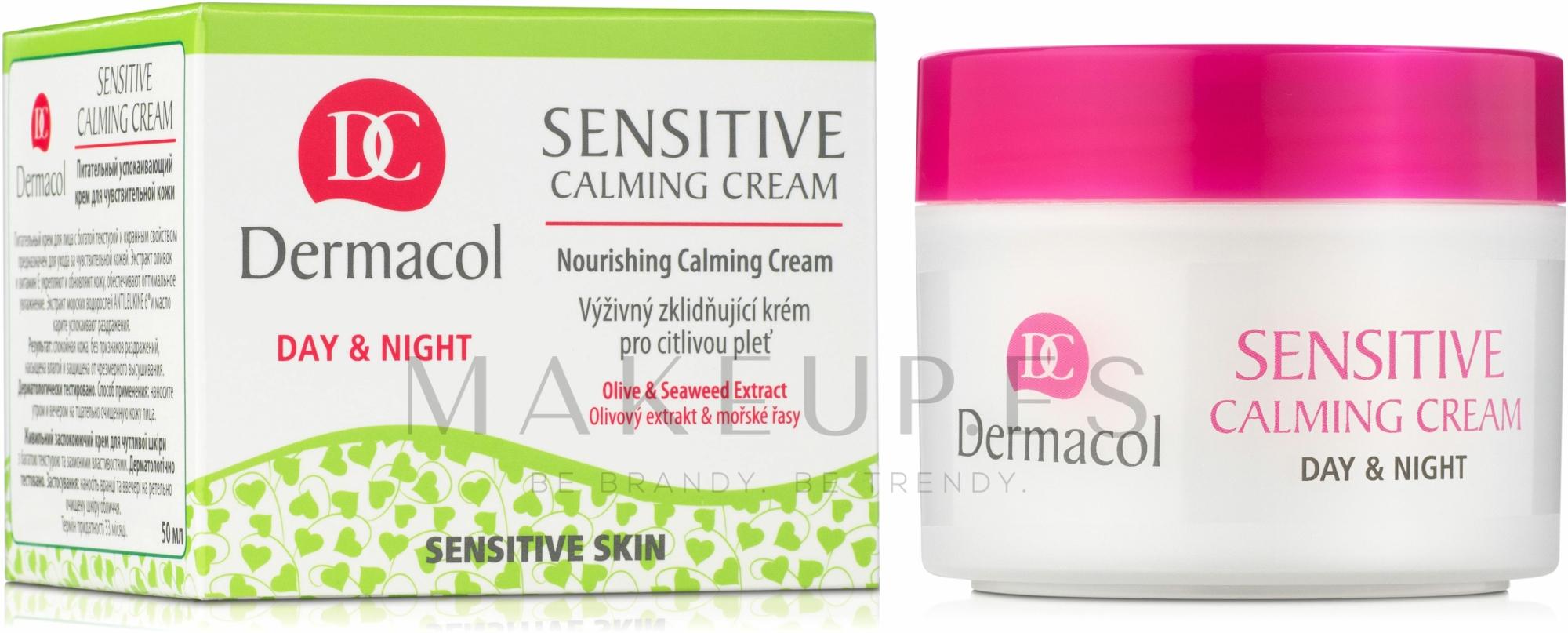Crema facial calmante con extracto de algas - Dermacol Sensitive Calming Cream — imagen 50 ml
