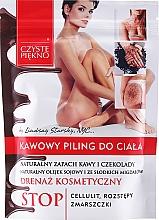 Perfumería y cosmética Peeling corporal anticelulítico con extracto de café - Czyste Piekno